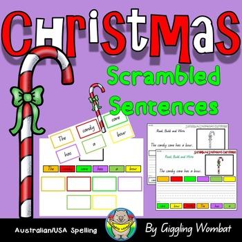 Christmas Scrambled Sentences