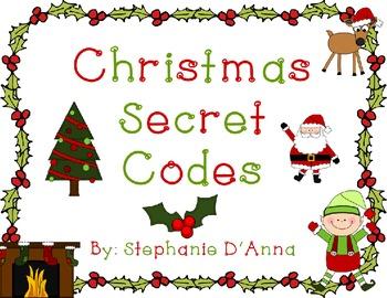 Christmas Secret Codes