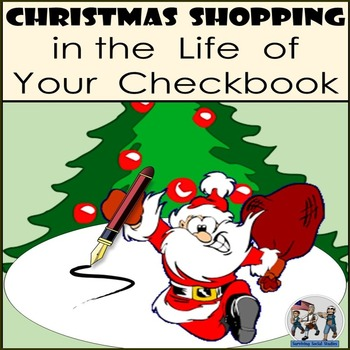 Christmas Shopping - Check Writing Activity - Math or Economics!