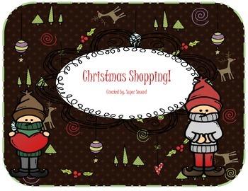 Christmas Shopping math game