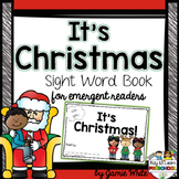 Christmas Sight Word Book