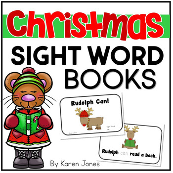 Christmas Sight Word Books {Christmas Activities}