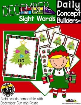 Christmas Sight Word Center