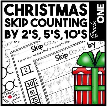Christmas Skip Counting {2's, 5's, 10's}