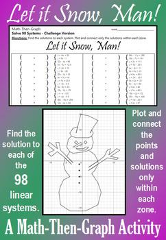 Let it Snow, Man! - Challenge Version - Solve 98 Systems -
