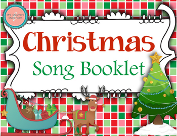 Christmas & Hanukkah Song Book {Editable}