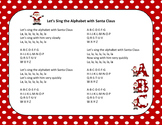 Christmas Song - Sing The Alphabet With Santa Claus + Sing