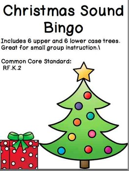 Christmas Sound Bingo - Kindergarten