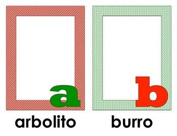 Christmas Spanish Alphabet