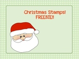 Christmas Stamps-FREEBIE!!
