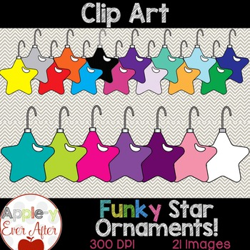 Christmas Star Ornament Clipart