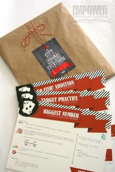 Christmas Teacher Appreciation 2nd Grade Math Gift Pack