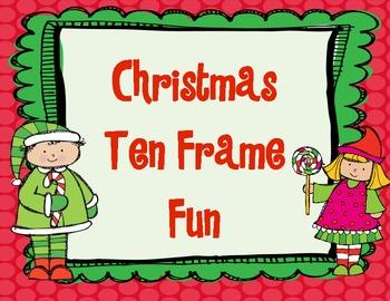 Christmas Ten Frame Fun