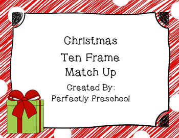 Christmas Ten Frame Match