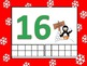 Christmas Tens Frame Counting Mats for Play-Doh or Counters