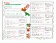 Christmas Theme Linear Equation - Solve, Decode and Unscra