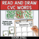 Christmas Theme - Write the Room - CVC Words