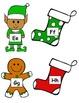 Christmas Themed ABC Write-the-Room!