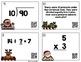 Christmas Themed Basic Multiplication and Division Task Ca
