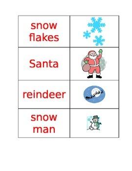 Christmas Themed Matching Game
