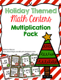 Holiday Themed Multiplication Math Center {Task Cards}