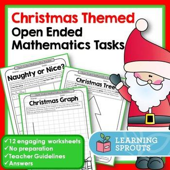 Christmas Themed Open Ended Mathematics Tasks