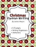 Christmas Themed Opinion Writing