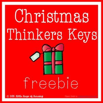 Christmas Thinkers Keys