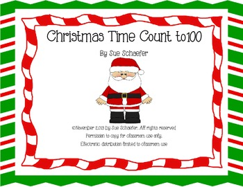 Christmas Time Count to 100