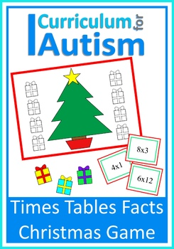Christmas Math Times Tables Quiz Game, Autism, Special Education
