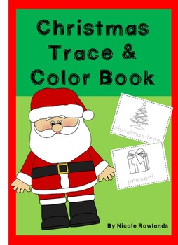 Christmas Trace and Color