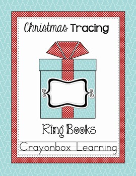 Christmas Tracing Alphabet, Numbers, Strips - Ring Books