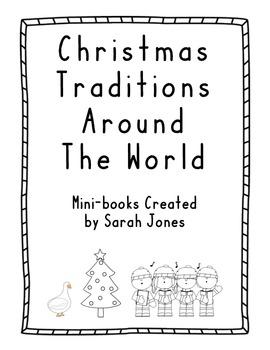 Christmas Traditions Around the World Mini-books