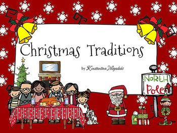 Christmas Traditions Social Studies for Pre-K and Kindergarten