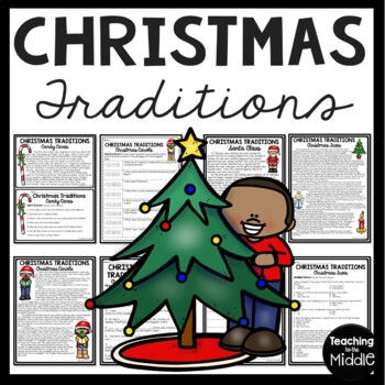 Christmas Traditions Reading Comprehension Articles, Cente