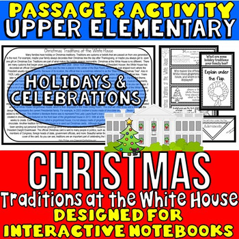 Christmas Reading Activity: Christmas Traditions at the Wh