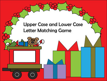 Christmas Train Letter Matching