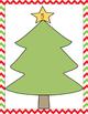 Christmas Tree, 0-20, Number Mats