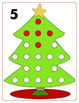 Christmas Tree 1 to 20 Playdoh Mats - Math Center for PreK