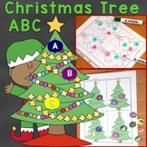 Christmas Tree ABC (alphabet letters, letter sounds, begin