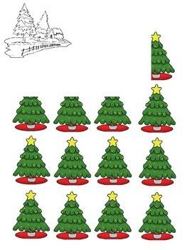Christmas Tree Array/Counting