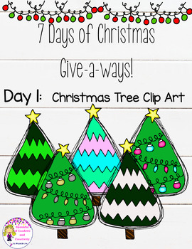 Christmas Clip Art-Christmas Tree {Spoonful of Confetti an