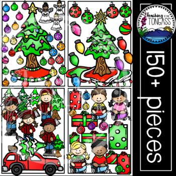 Christmas Tree Clipart MEGA Bundle