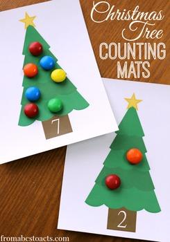 Christmas Tree Counting Mats