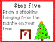 Christmas Tree Drawing Game