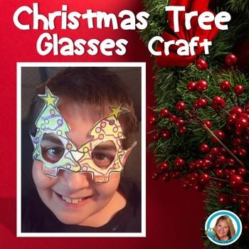 Christmas Tree Glasses Craft