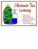 Christmas Tree Learning file folder games