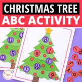 Christmas Activities Christmas Tree Alphabet Literacy Activity
