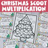 Christmas Tree Multiplication Scoot