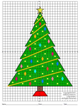 Christmas Tree Mystery Picture